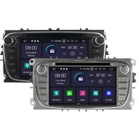 Autoradio Android 9.0 GPS Ford Mondeo, Focus, S-Max, Galaxy - noir ou argenté