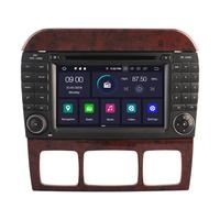 Autoradio Android 9.0 GPS Mercedes Benz Classe S W220 de 1998 à 2005 & SL R230 de 07/2004 à 2009