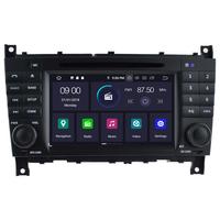 Autoradio Android 9.0 GPS Mercedes Benz Classe C W203, Classe G W467 & CLC W203