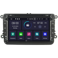 "Autoradio Android 9.0 GPS Wifi tactile 8"" Volkswagen Eos, Golf 5 & 6, Caddy, Scirocco, Polo, Tiguan, Touran, Passat CC, Amarok, Coccinelle, Seat Leon, Alhambra et Skoda Fabia, Octavia, Superb, Yeti, Roomster & Rapid"