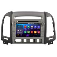 Autoradio Android 8.1 Wifi GPS Hyundai Santa Fe de 2007 à 2012 (4 boutons)