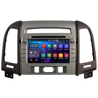 Autoradio Android 8.1 GPS Hyundai Santa Fe de 2007 à 2012 (3 boutons)