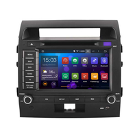 Autoradio Android 9.0 Wifi DVD GPS Toyota Land Cruiser 200 de 2007 à 2013