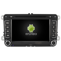 "Autoradio Android 7.1 GPS tactile 7"" Volkswagen Eos, Golf 5 & 6, Caddy, Scirocco, Polo, Tiguan, Touran, Passat CC, Amarok, Coccinelle, Seat Leon, Alhambra et Skoda Fabia, Octavia, Superb, Yeti, Roomster & Rapid"