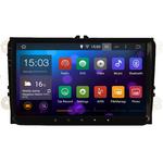 Grand écran Tactile 9 pouces ANDROID 8.1 GPS WIFI Volkswagen Golf Eos Touran Tiguan Scirocco Polo Passat