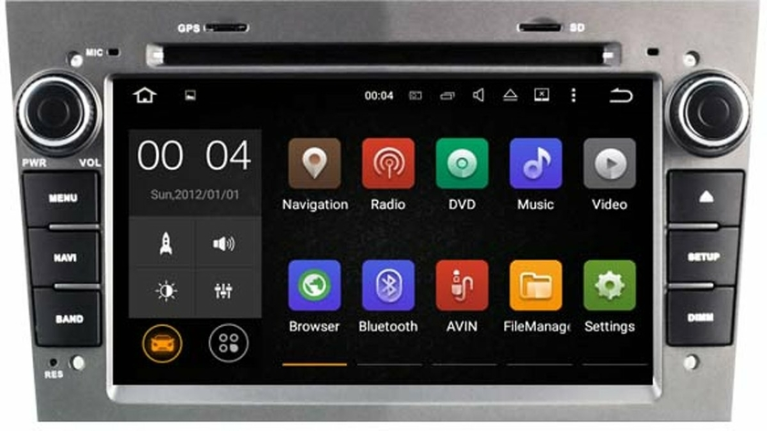 autoradio android 8 1 gps opel astra corsa wifi dvd. Black Bedroom Furniture Sets. Home Design Ideas