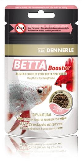 Betta booster poissons d 39 eau douce betta aqualux concept for Nourriture poisson betta