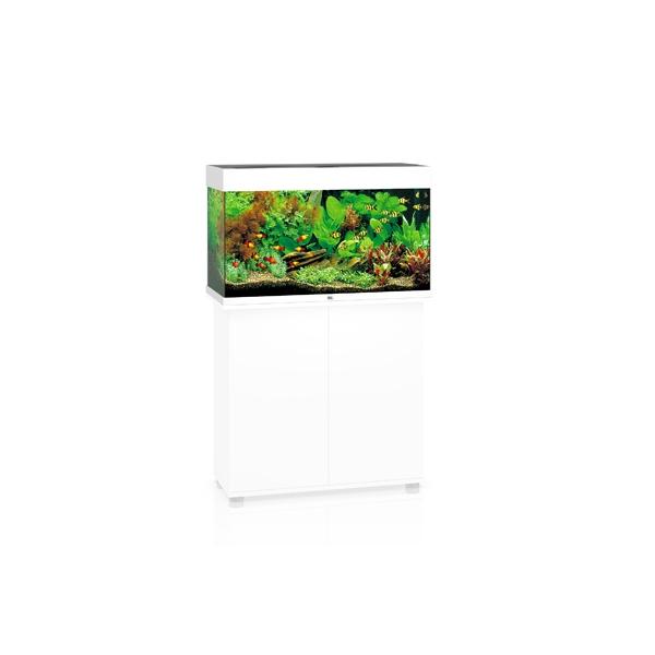 juwel aquarium rio 125 led 2x14w blanc 81x36x50cm juwel aquarium sans meuble rio aqualux. Black Bedroom Furniture Sets. Home Design Ideas