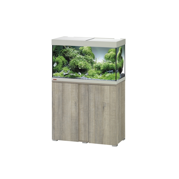 Eheim vivaline led 126l combi ch ne gris aquariums eheim for Bio concept meubles
