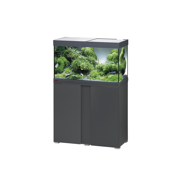 Eheim vivaline led 126l combi anthracite aquariums eheim for Bio concept meubles