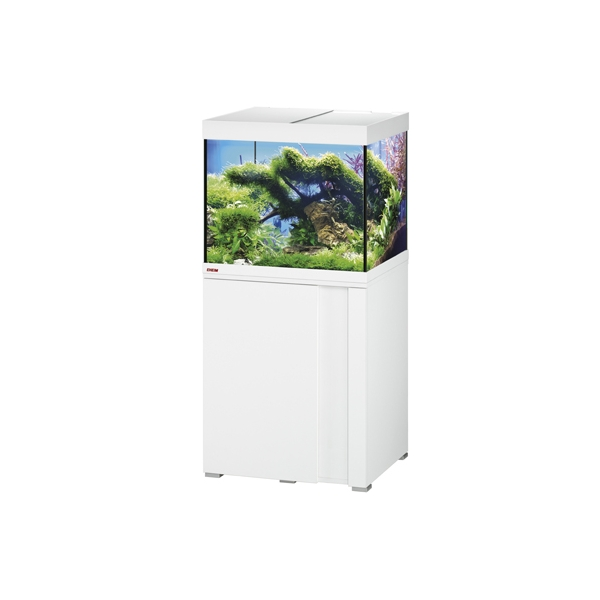 Eheim vivaline led 150l combi blanc eheim aquarium for Bio concept meubles