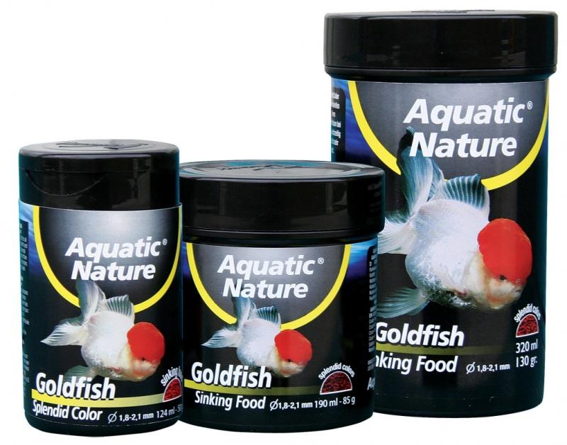 Aquatic nature Goldfish sinking food 124ml