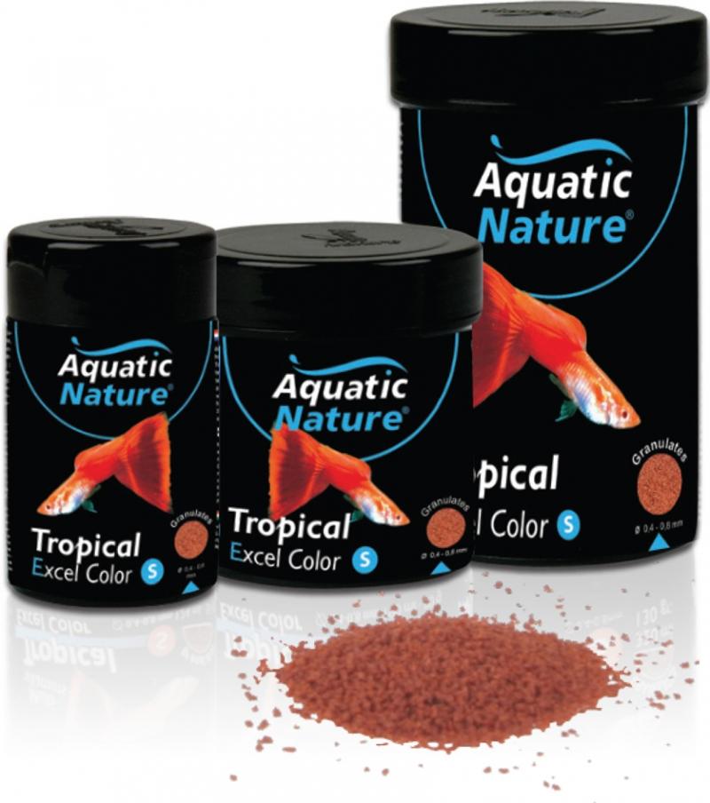 Aquatic nature Tropical small excel color 124ml