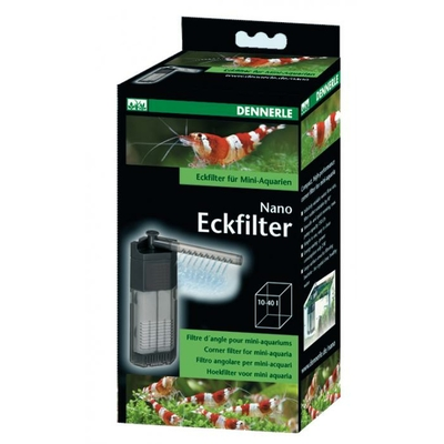 Nano Clean Dennerle filtre d'angle - 150 l/h
