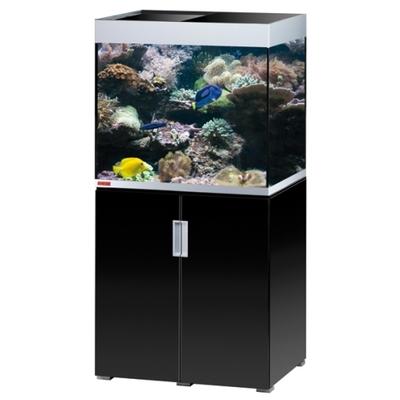 Eheim INCPIRIA MARIN 200 COMBI aquarium/meuble ARGENTE/NOIR 4x24w