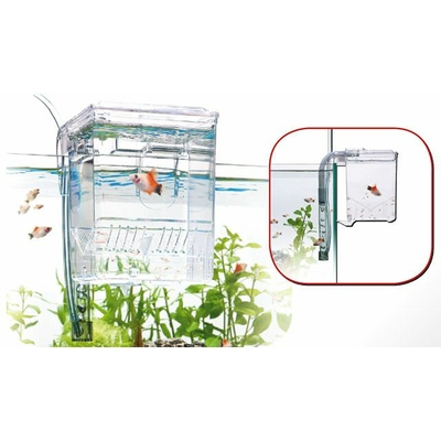 WAVE Breeding Box Small isoloir externe de 1,2L avec système de renouvellement automatique de l'eau.