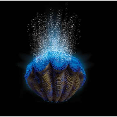 Hydor h2show deco kit blue clam