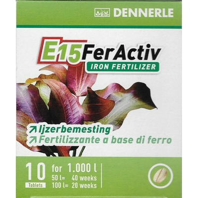 DENNERLE E15 FerActiv 10 comprimés
