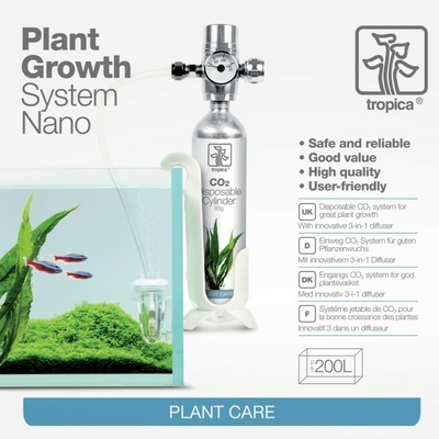 Kit co2 complet 95g Tropica