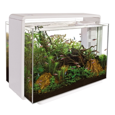 SF HOME 80 AQUARIUM BLANC ! Retrait en magasin uniquement !