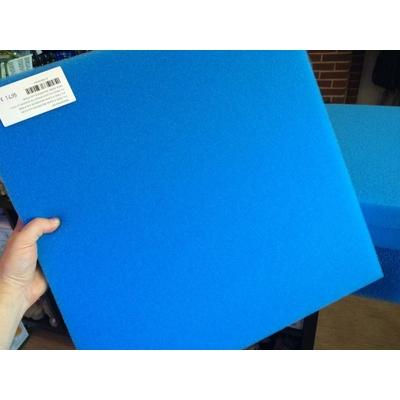 Mousse bleu fin 50X50X5cm