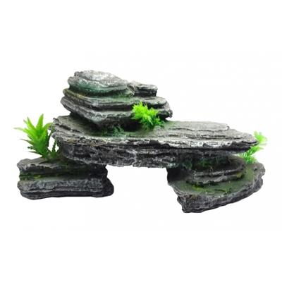 Décoration rocher 32x13x15
