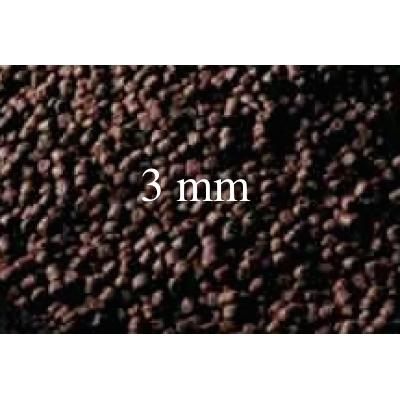 Pellets de première qualité pour Axolotl juvéniles de 3mm  250 ml  (+-175gr)