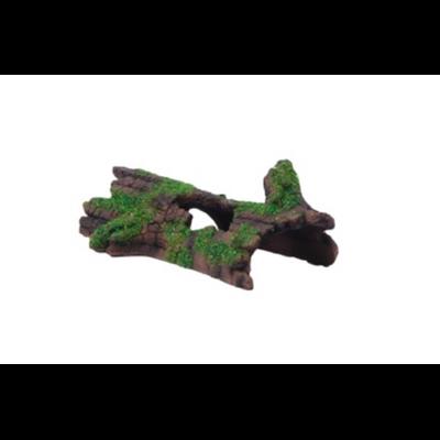 Décoration souche d'arbre 19X9,5X6cm