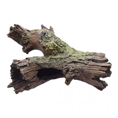 Décoration souche d'arbre 23,5x17x9CM