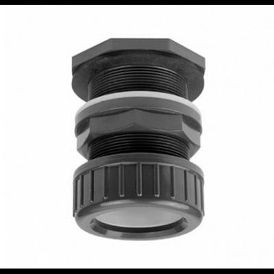 Passe paroi PVC diamètre 20 mm pour trou diamètre 27 mm
