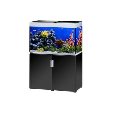 Eheim INCPIRIA MARIN 300 COMBI aquarium/meuble ARGENTE/NOIR 4x39w