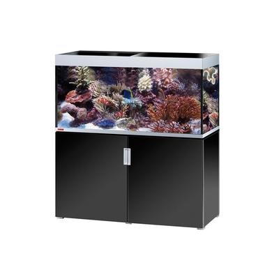 Eheim INCPIRIA MARIN 400 COMBI aquarium/meuble ARGENTE/NOIR 4x54w