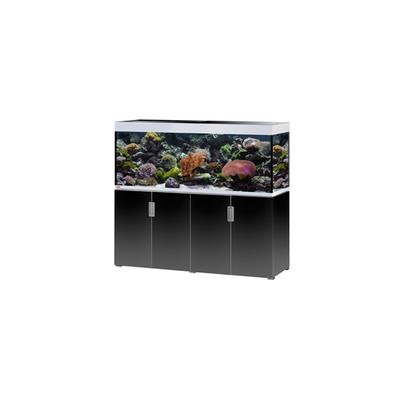 Eheim INCPIRIA MARIN 500 combi aquarium/meuble ARGENTE/NOIR 4x45w LED