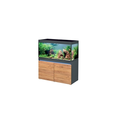 Eheim INCPIRIA 430 GRAPHIT/NATURE 2xPOWER LED combi aquarium/meuble