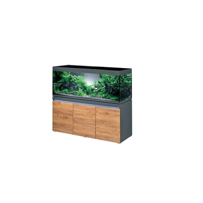 Eheim INCPIRIA 530 GRAPHIT/NATURE 2xPOWER LED combi aquarium/meuble