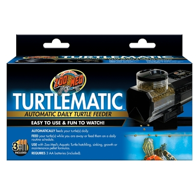 DISTRIBUTEUR DE NOURRITURE TURTLE MATIC ZOOMED
