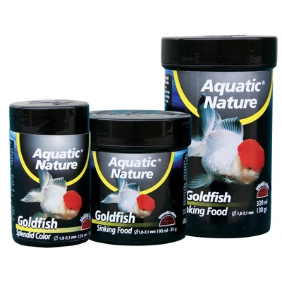 Aquatic nature Goldfish sinking food 124ml