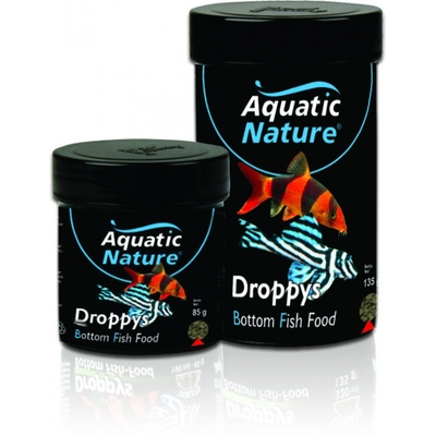 Aquatic nature Droppys bottom fish food 190ml
