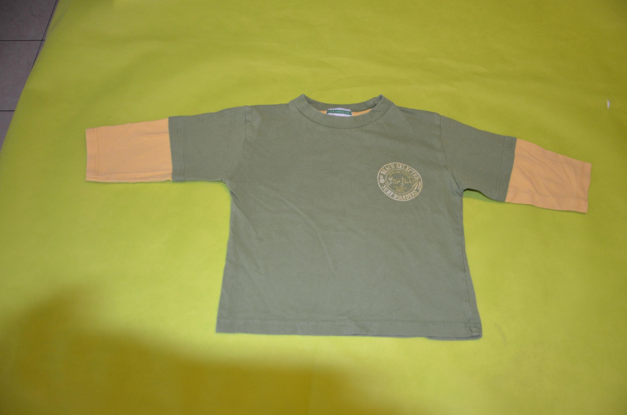 tee shirt garçon 2 ans vert baudet occasion