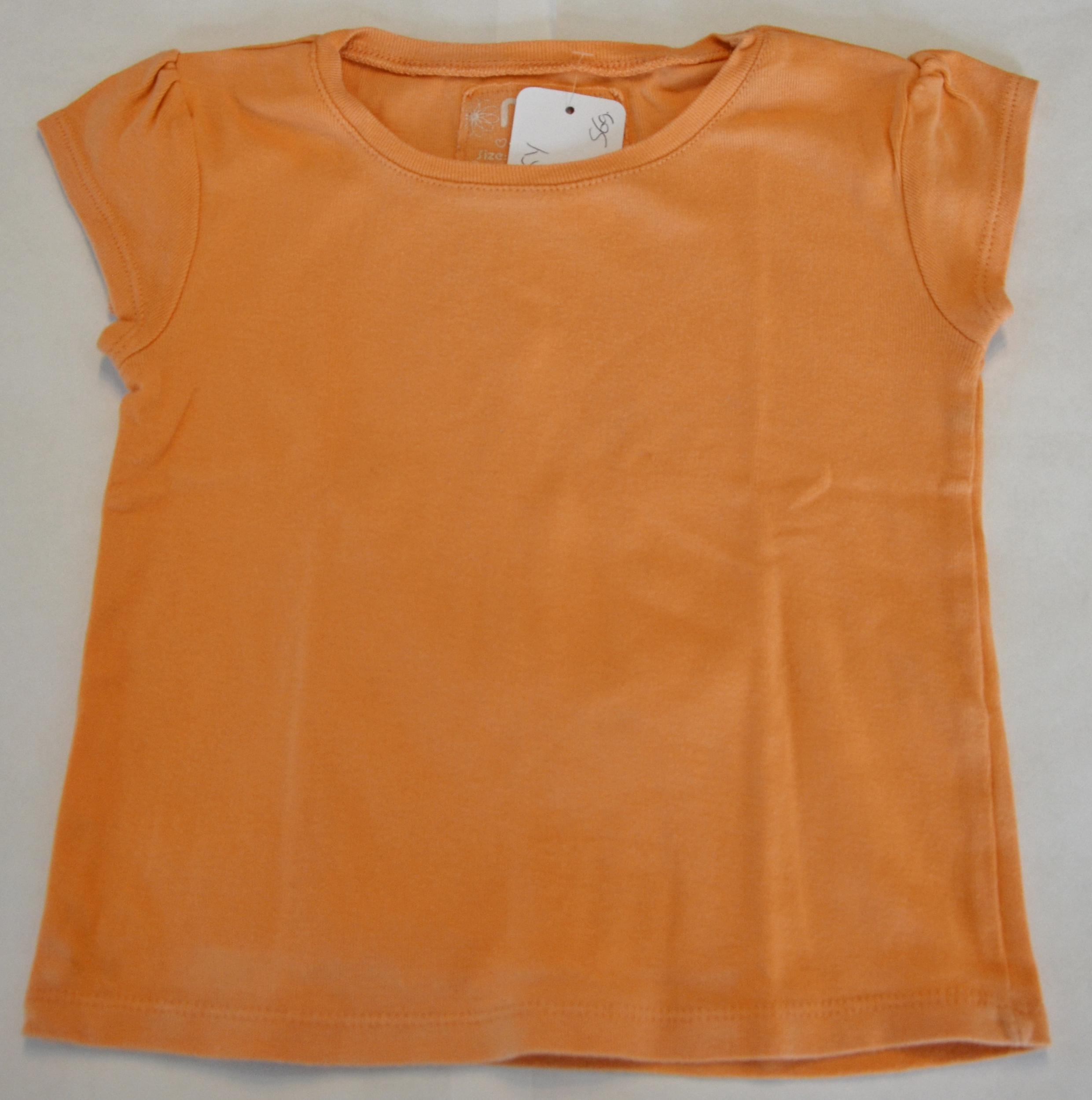 haut fille 5 ans nky orange