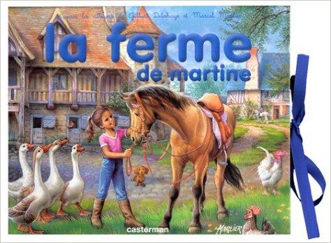 livre3 D la ferme de martine casterman