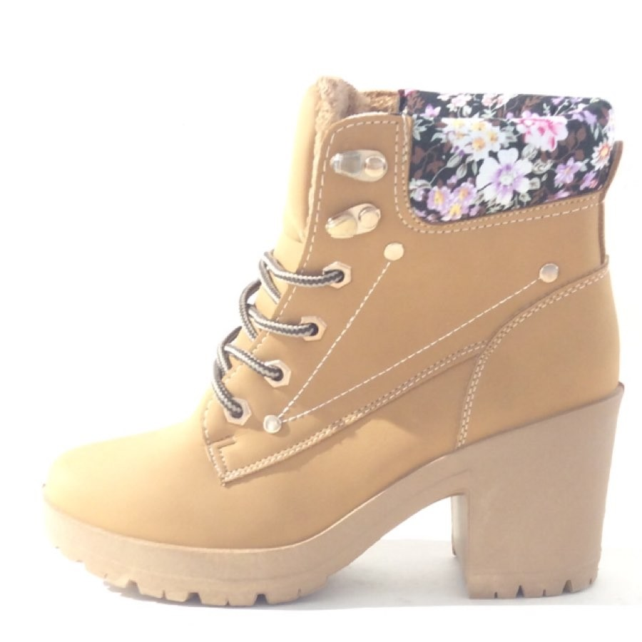 Bottines femme Bello Star flowers BLC-BL205
