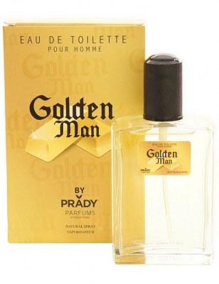 eau de toilette générique 100 ml pour homme by prady - golden man