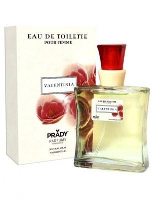 eau de toilette générique 100 ml pour femme by prady - valentina