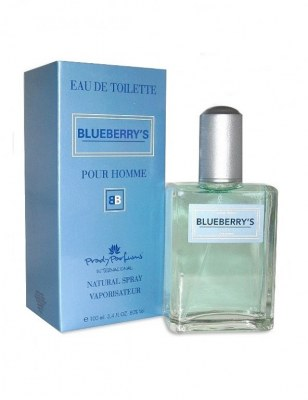 eau de toilette générique 100 ml pour homme by prady - blue berry\'s