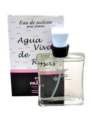 eau de toilette générique 100 ml pour femme by prady - agua viva de rosas