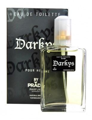 eau de toilette générique 100 ml pour homme by prady - 15102 darkys blanc