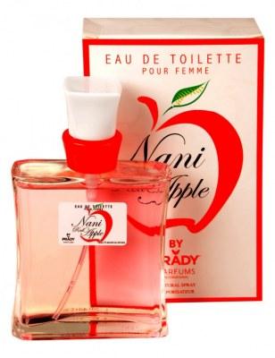 eau de toilette générique 100 ml pour femme by prady - 13893 nani red apple