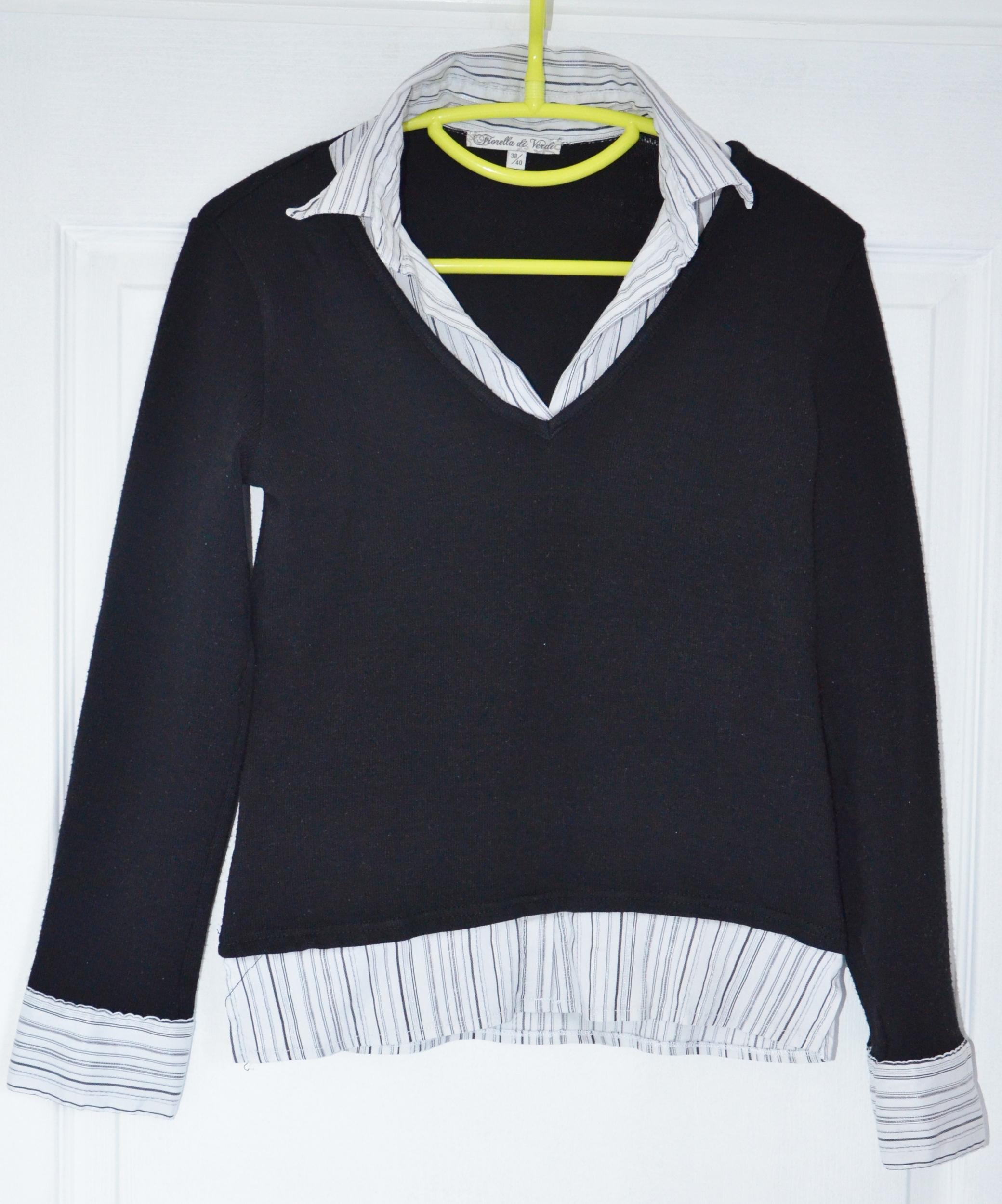 chemise pull fiorella di verdi 38