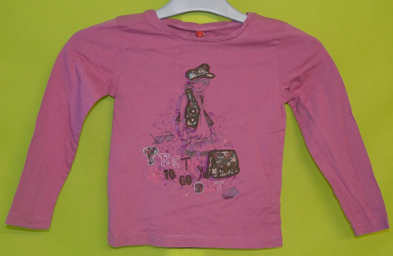 tee shirt fille 5 ans tissaia rose occasion